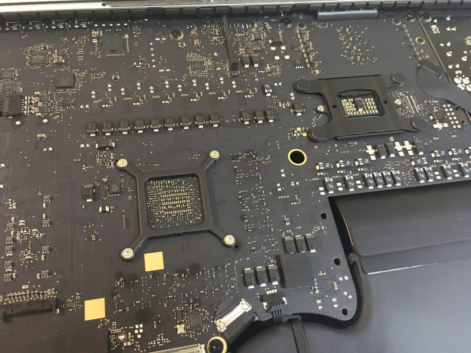 "В погоне за скоростью: замена процессора в компьютере Apple iMac 27"" 5K"