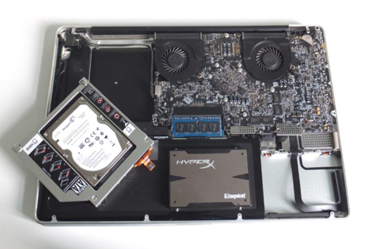 Установка macOS High Sierra на «самодельный» Fusion Drive